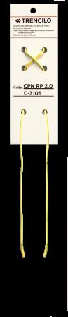 Trencilo Cordón Algodón Encerado Redondo C3105