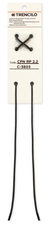 Trencilo Cordón Algodón Encerado Redondo C3803